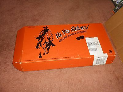 Rare 2001 Hi Yo Silver Lone Ranger Cheerios-Than&now Retro Lunch Box Sealed Fr S