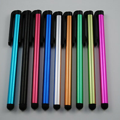 10X Kunststoff Bleistift Stylus Touch Screen Pen Kugelschreiber Handy Tablet FS