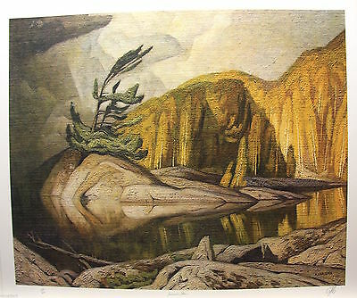 A J Casson RARE Ltd. Edition, Hand Signed Print, Summer Storm, Incl. COA