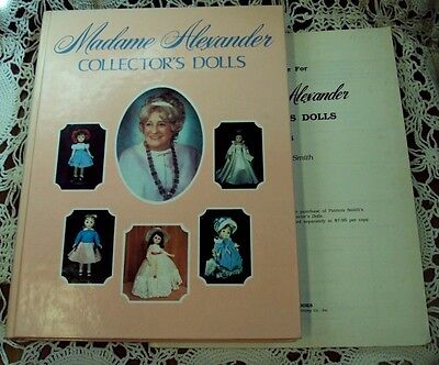 Lot/2 MADAME ALEXANDER COLLECTOR'S DOLLS 1978 Patricia Smith HC + Price Guide 15