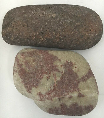 NATIVE AMERICAN ARTIFACTS, Painted? Rock  Grinding Stone/Celt  So. Nevada