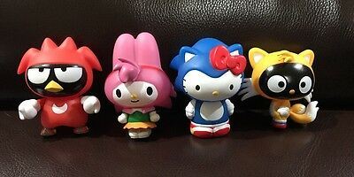 Sonic The Hedgehog X Sanrio Blind Box Figure Full Set 4pcs [AAA]