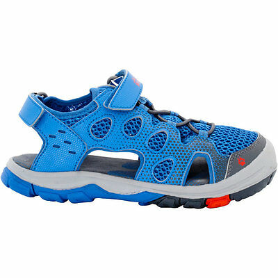 Jack Wolfskin Boys & Girls Titicaca Low Velcro Mesh Walking Sandals