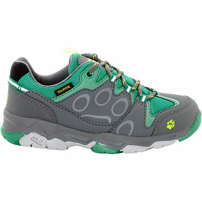 Jack Wolfskin Boys & Girls Mtn Attack 2 Low Waterproof Walking Shoes
