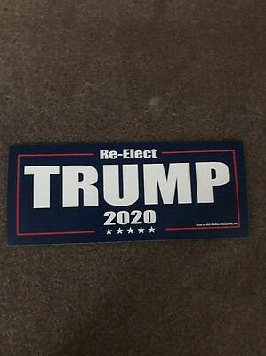 Re-Elect Trump 2020 Sticker For President Donald Usa Decal