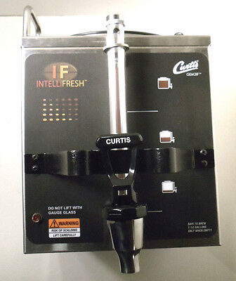Curtis GEM3IF Satellite Server Coffee Dispenser Warmer 1.5 gal IntelliFresh GEM3