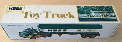1977 Hess Tanker Truck with Box