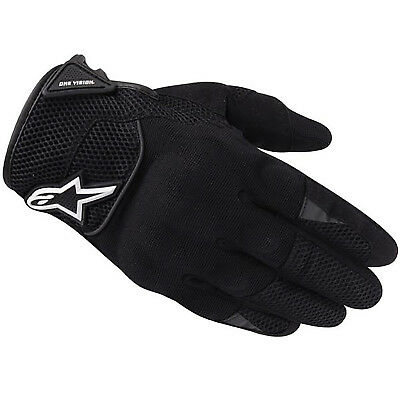 Alpinestars Spartan Women Urban Black Motorcycle Gloves Motorbike Motorcross