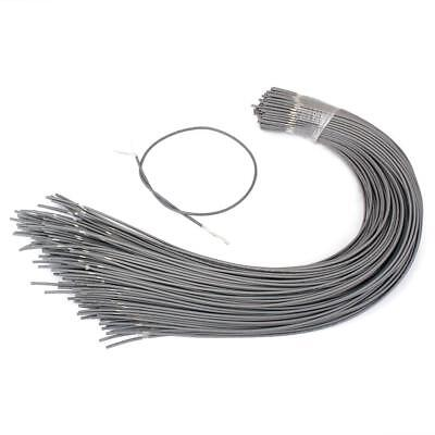 Set of 20 Shielded Guitar Circuit Wire Single Conductor Grey Instrument Accs