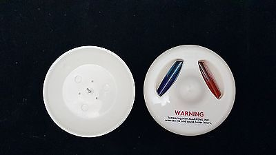 Lot of 250 Hawkeye Glass Ink Security Tags & New USS Pins Backs EAS Anti-Theft