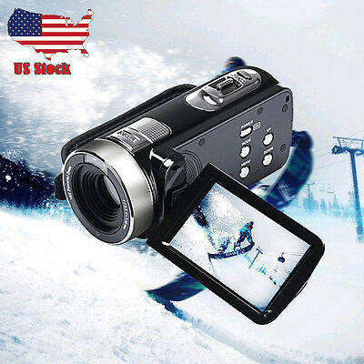 "3.0"" Full HD 1080P 24MP Digital Video Camcorder Camera DV HDMI TFT LCD 16X ZOOM"
