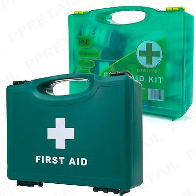 HSE UK Compliant FIRST AID KIT Wall Mounted 1-20 Staff Workplace/Office/Workshop