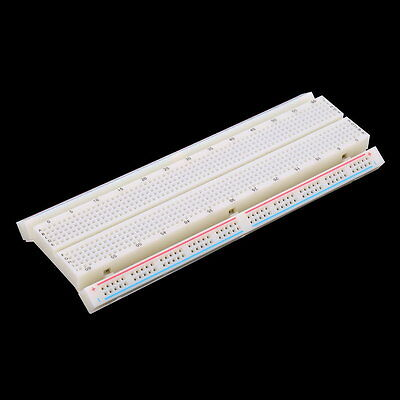 MB-102 Solderless Breadboard Protoboard 830 Tie Points 2 buses Test Circuit WM