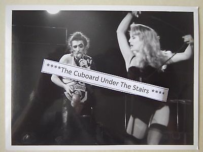 "Alice Cooper -  Live On Stage - Glossy 6"" x 8"" Promo Photo L.F.I"