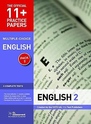 The Official 11+ Practice Papers English Pack 1 & 2