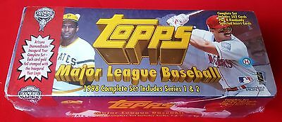 Topps 1998 Major League Baseball Card Set  Series 1/2 FACTORY SEALED Limited Ed.