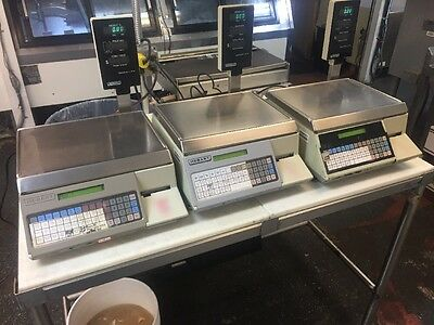 (Lot Of 3) Hobart SP1500 Scales In Working Condition