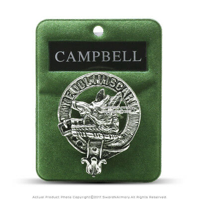 Clan Campbell Scottish Crest Badge Brooch Pin Clothes Costume Gift Souvenir
