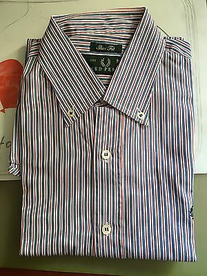 Camicia Fred Perry Size M Slim Fit