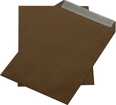 500 st Envelopes Din A5 C5 Brown without Windows Self-Adhesive Envelopes Hk