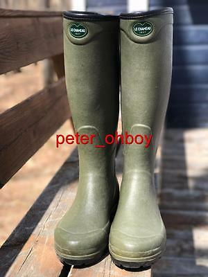 LE CHAMEAU COUNTRY XL hunter rubber boots wellington boots waders  gummistiefel 0c72012cce2