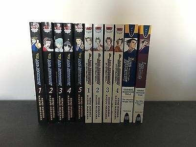 Pheonix Wright manga volume 1 to 5 + other mangas from the series