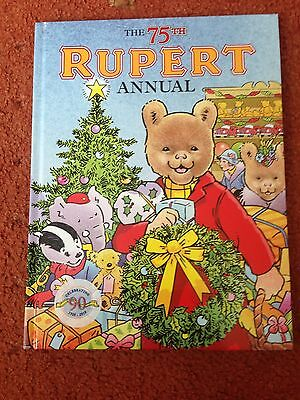 The 75th Rupert Bear Annual Mint Condition