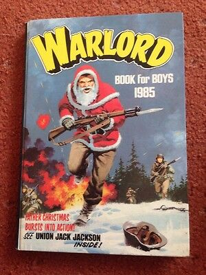 WARLORD ANNUAL BOOK FOR BOYS ANNUAL 1985 Excellent Condition