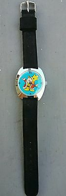 Vintage 17 Jewel Windup Burger King Franchise Owners Watch Rare Mint Never Used