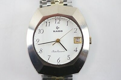 100% AUTHENTIC Rado Balboa Electrosonic Stainless Steel Swiss Two Tone Watch
