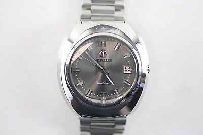 100% Authentic Vintage Rado Garland Automatic Silver Dial Watch