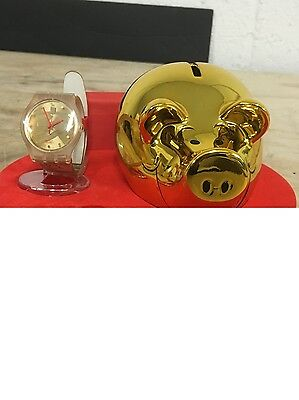 "Swatch Sujk119 ""be Lucky"" Watch Pig Chinese In Box"