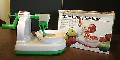 Vintage Apple Peeling Machine, Unused, In Original Box