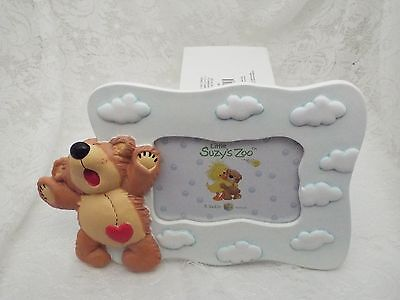 "Little Suzy's Zoo Baby Picture Frame 3.5"" X 5"""