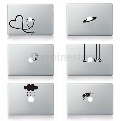 MacBook Adesivi Wall Sticker Skin Decal For Apple Mac Air Pro Retina Laptop