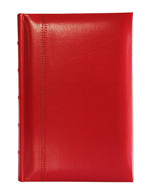 Glorious Leather 300 Photo Slip In Album Red