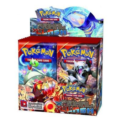 POKEMON XY TCG Primal Clash Booster Box - 36 Booster Pack Trading Card