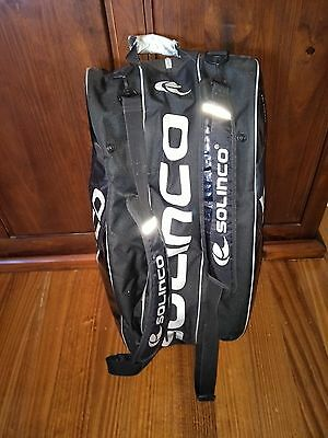 Solinco Used Tennis Racquet Bag ** Fits 12 Racquets **