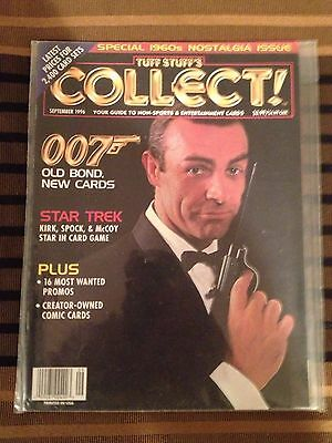Collect! September 1996 Guide To Non-Sport & Entertainment Cards James Bond 007