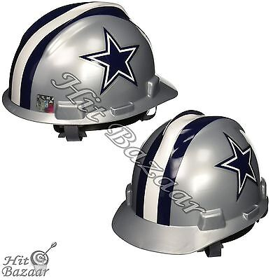 Dallas Cowboys Hard Hat Helmet MSA Safety Head Guard NFL Football Work Hardhat