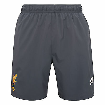 Liverpool FC  LFC Mens Thunder Grey Woven Training Shorts 17/18 Official