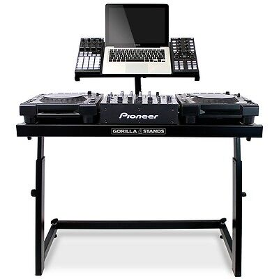 Gorilla DS-1 Height Adjustable DJ Bedroom Studio Deck Stand inc Warranty