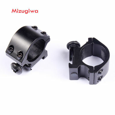 25.4mm Ring 21mm Picatinny Weaver Rail Low Profile QD Scope Mount For Riflescope