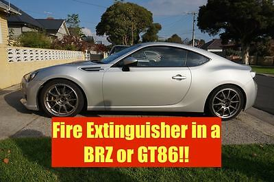 Toyota GT86 Fire Extinguisher Bracket Vehicle New Safety Mount Automotive