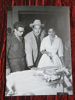 """James Dean / Liz Taylor - Film Star - 1 Page Picture -"""" Clipping / Cutting""""- #19"""