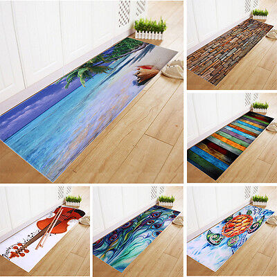 Dining Room Carpet Shaggy Soft Area Rug Bedroom Rectangle Floor Mat 40*120CM