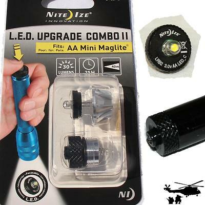Nite Ize 1 WATT LED UPGRADE KIT II für Mini Maglite AA  oder  LED COMBO UPGRADE