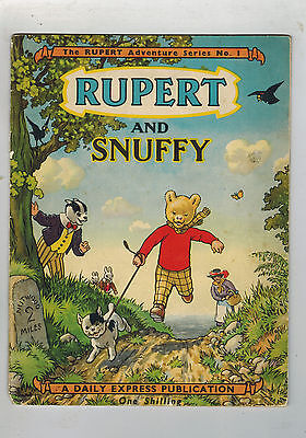 RUPERT Adventure Series No. 1 Rupert & Snuffy
