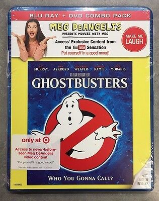SEALED MOVIE Ghostbusters Blu-ray / DVD Combo BRAND NEW