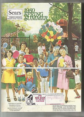 Sears 1980 Spring And Summer Catalog